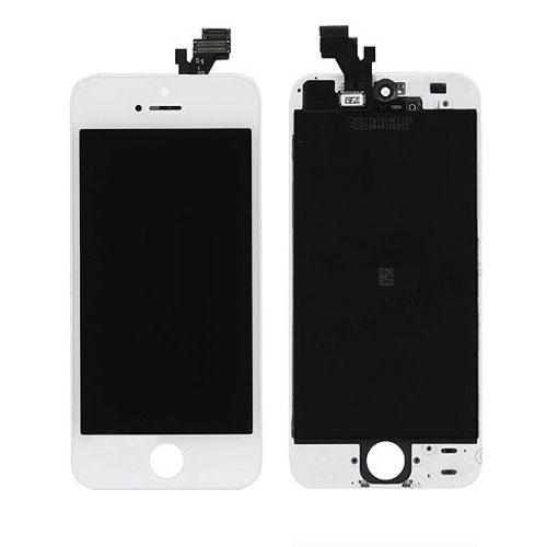 iPhone 5 Frontscheibe Montage - Weiß