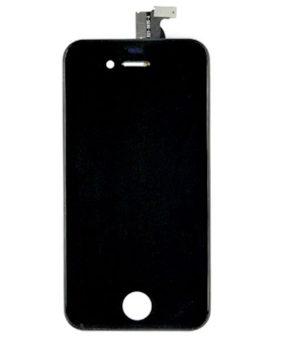 iPhone 4S Retina LCD und Digitizer Front - Schwarz