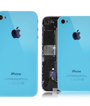 iPhone 4 Backcover / Rückseite - Baby Blue