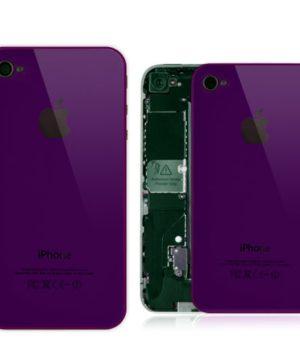 iPhone 4 Spiegel Backcover / Rückseite - Lila