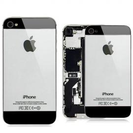 iPhone 4S Backcover im iPhone 5 Look / Grau