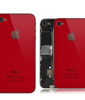iPhone 4S Backcover / Rückseite - Rot