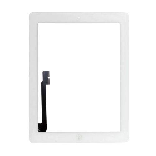 iPad 3 / iPad 4 Touchscreen Glas Digitizer - Weiss