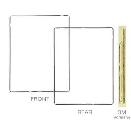 iPad2 / iPad3 / iPad4 Rahmen für LCD Digitizer - Schwarz