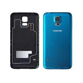 Samsung Galaxy S5 Ersatz Rückseiten Blau Ohne WIFI Bausatz