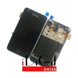 Samsung Galaxy S3 i9100 LCD und Digitizer Front + Rahmen - Schwarz